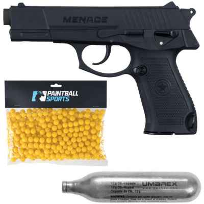 GI Sportz Menace Paintball Player Pack (black) | Paintball Sports