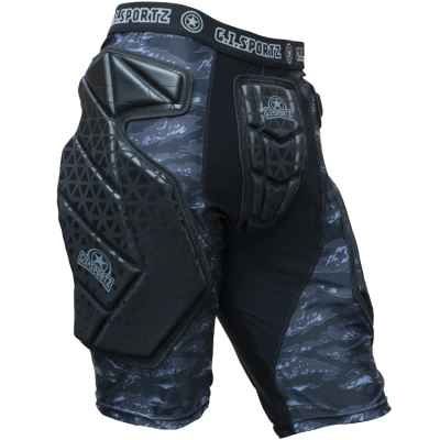 GI Sportz Race Paintball Slide Short (black) | Paintball Sports