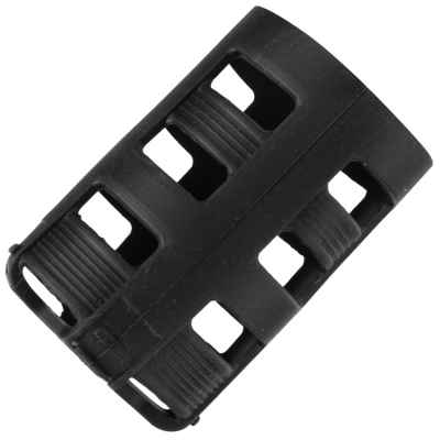 TacButt Rubber Cover / Cover for 0.2L Paintball HP Systems (Black)   Paintball Sports