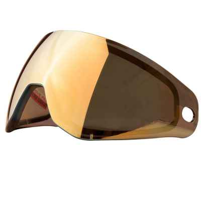 HK Army KLR Thermal Paintball Masked Glass (Prestige Gold Mirror) | Paintball Sports