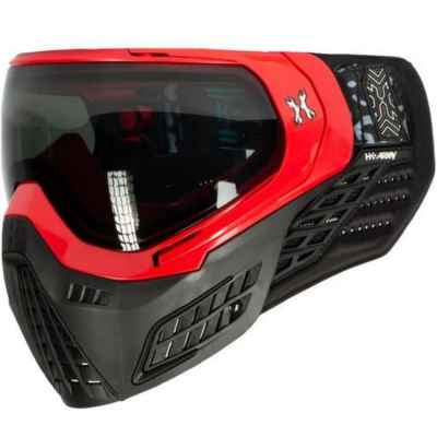 HK Army KLR Paintball Mask (Blackout - Red) | Paintball Sports