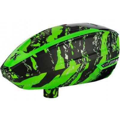 HK Army TFX Paintball E-Hopper (Fracture Slime - green) | Paintball Sports