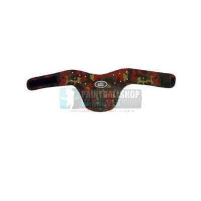 Throat guard, large (Flecktarn) | Paintball Sports