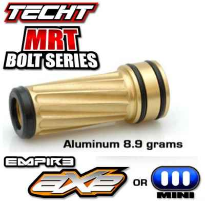 TechT Invert Mini MRI Gold Bolt (Aluminum) | Paintball Sports