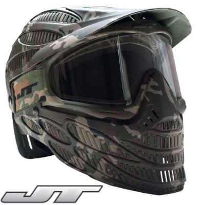 JT Spectra Flex 8 Thermal Mask - Full Cover (Camo) | Paintball Sports