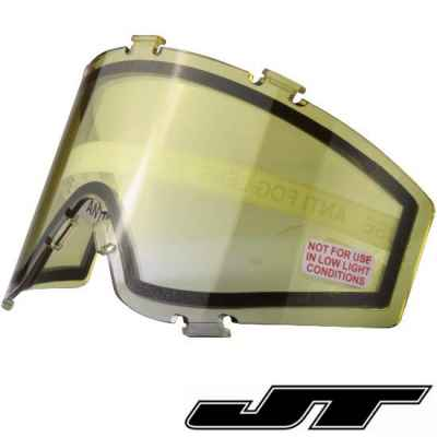 JT Spectra Paintball Thermal Masking Glass (fade yellow) | Paintball Sports