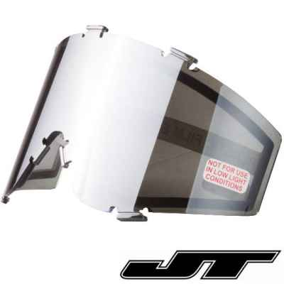 JT Spectra Paintball Thermal Masking Glass (Chrome - Silver Mirror) | Paintball Sports