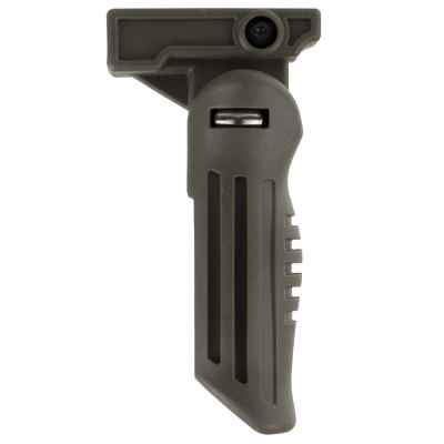Tactical front handle with 20mm Weavermontage, folding (olive) | Paintball Sports