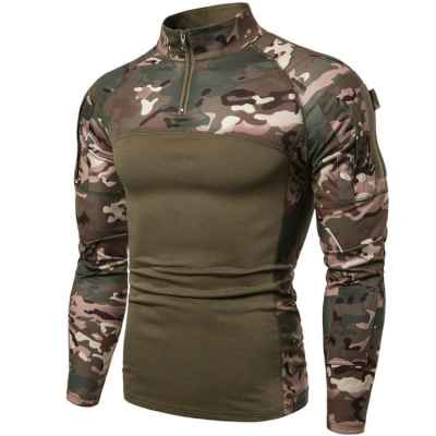 LT Combat Shirt / Tactical Top (Slim Design) - Multicam | Paintball Sports