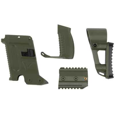 Milsig M17 Victor Kit / Vector SMG Remodeling Kit (olive) | Paintball Sports