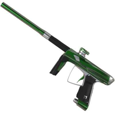 MacDev Clone 5S Infinity Paintball Marker (Gray / Green) | Paintball Sports