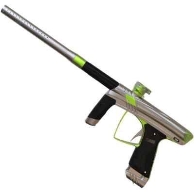 MacDev Prime Paintball Marker (silver / green)   Paintball Sports