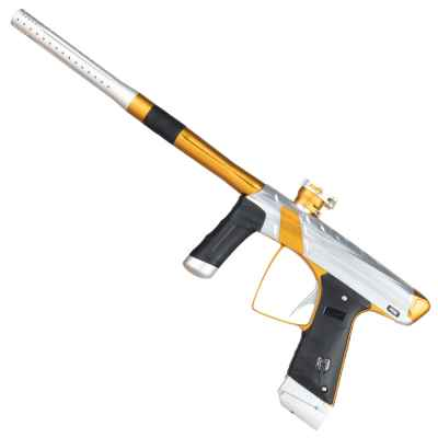 MacDev Prime XTS paintball marker ZEUS (silver / gold) | Paintball Sports