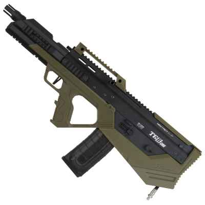 Maxtact TGRone Bullpup Paintball Marker (black / olive) | Paintball Sports