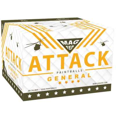 New Legion Attack General Magfed Paintballs 2000th Box | Paintball Sports