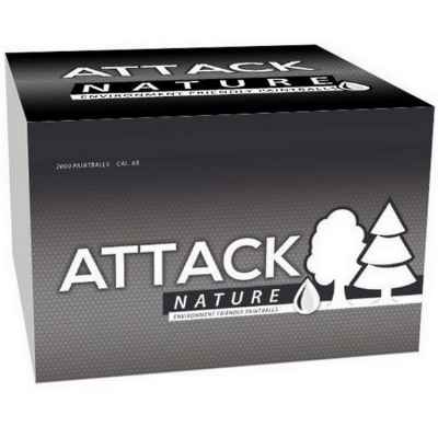 New Legion Attack NATURE Paintballs 2000s box | Paintball Sports