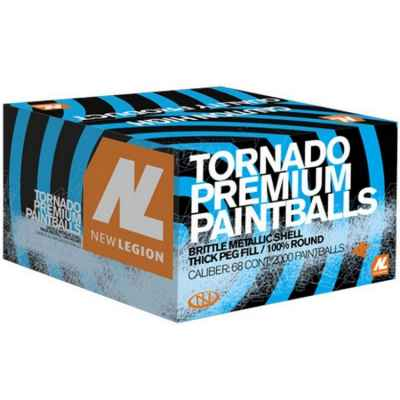 New Legion Tornado Premium Tournament Paintballs (2000 box) | Paintball Sports