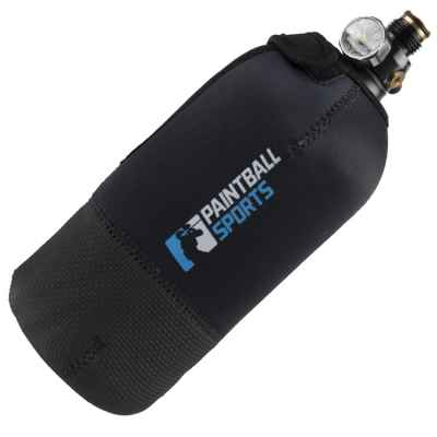 Paintball Sports HP Neoprene Tank Cover 1.1 Liter / 0.8 Liter (Black) | Paintball Sports
