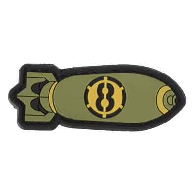 Paintball / Airsoft PVC Velcro Patch (Tactical Bomb)   Paintball Sports