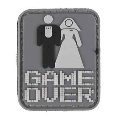 Paintball / Airsoft PVC Velcro Patch (Game Over) | Paintball Sports