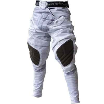 Pbrack Flow Pants Paintball Pants (White / White) | Paintball Sports