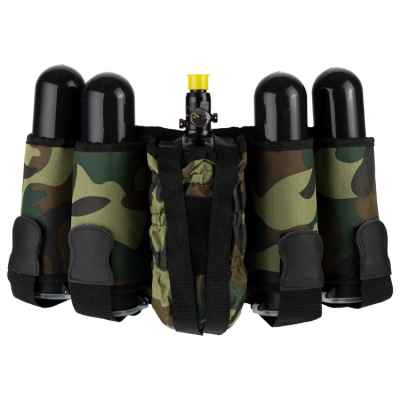 Paintball Tactical Battlepack 4 + 1 (Woodland) | Paintball Sports