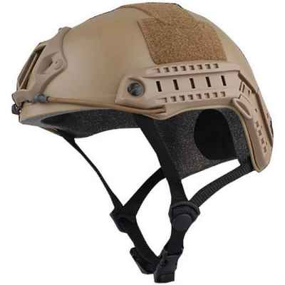 FAST Tactical Helmet for Paintball / Airsoft (Desert / Tan) | Paintball Sports