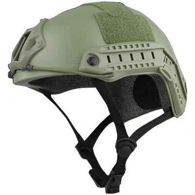 FAST Tactical helmet for paintball / airsoft (olive) | Paintball Sports