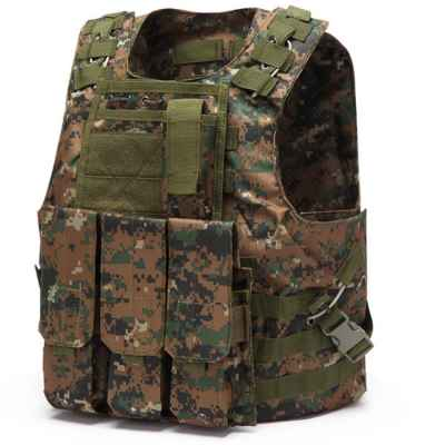 Tactical Paintball Molle Vest with Pockets (Marpat Camo) | Paintball Sports