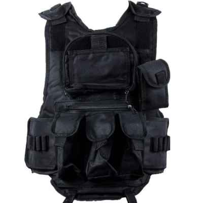 Paintball Tactical Vest 6 + 1 (black) | Paintball Sports