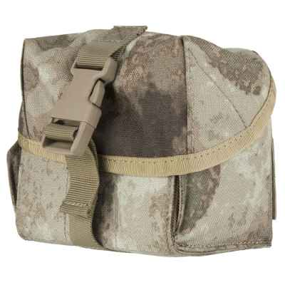 6er Universal Molle Bag for Grenades (Forest Gray Camo) | Paintball Sports