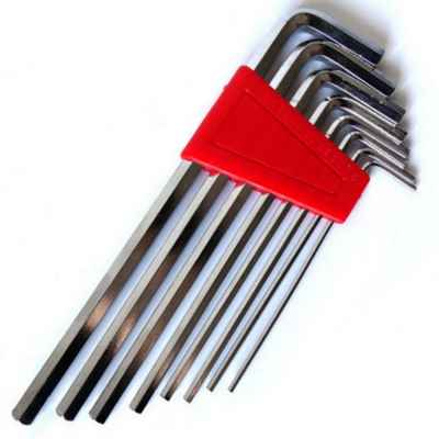 Hex Key Set (Metric, 9-Piece) | Paintball Sports