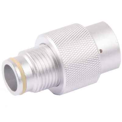 ON / OFF valve for ASA adapter (silver)   Paintball Sports