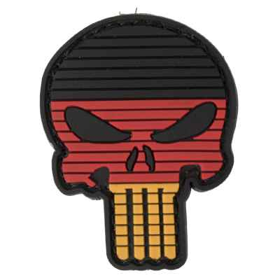 Paintball / Airsoft PVC Velcro Patch (Skull Germany) | Paintball Sports