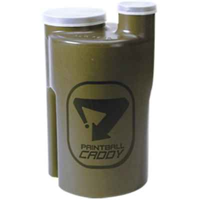 Paintball Pod Caddy / Ammo box for 1,100 paintballs (olive) | Paintball Sports