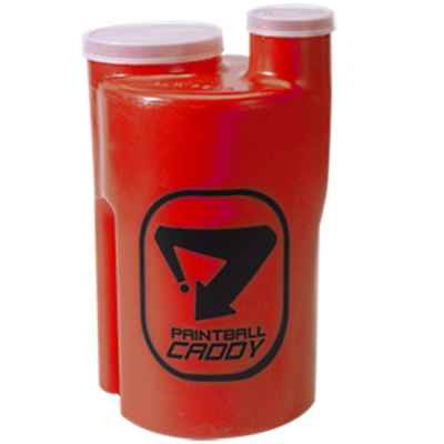 Paintball Pod Caddy / Ammo box for 1,100 paintballs (red) | Paintball Sports