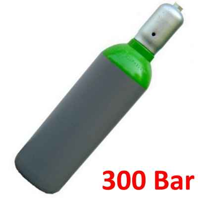 Compressed air storage bottle (10 liters, 300 bar) | Paintball Sports