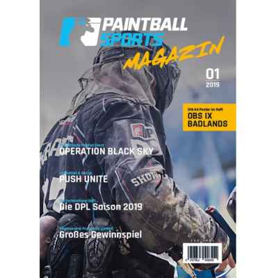 Paintball Sports Magazine - The Paintball Sports customer magazine (issue 01/2019) | Paintball Sports