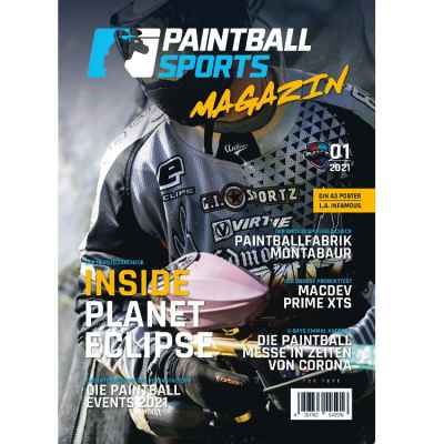Paintball Sports Magazin - your paintball magazine (issue 01/2021 | Paintball Sports