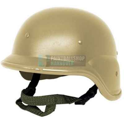 Paintball Tactical Helmet (Tan / Brown) - V-Force Vantage compatible | Paintball Sports