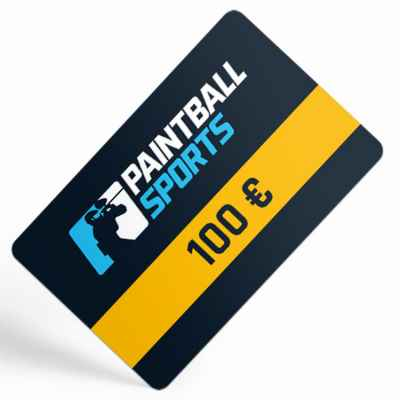 Paintball Sports Gift Certificate (100 Euro) | Paintball Sports