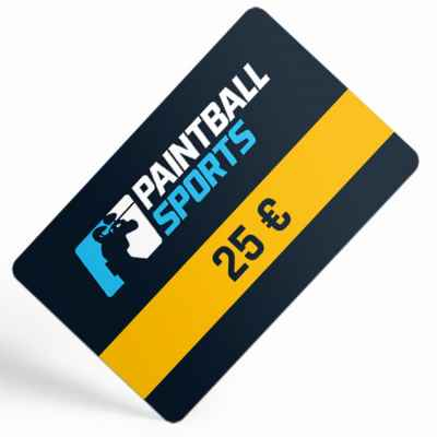 Paintball Sports Gift Certificate (25 Euro) | Paintball Sports