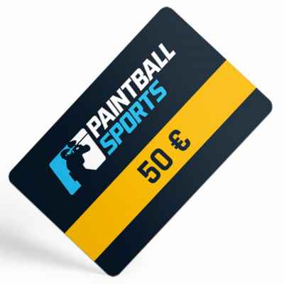 Paintball Sports Gift Certificate (50 Euro) | Paintball Sports