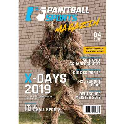 Paintball Sports Magazine - Your Paintball Magazine (Issue 04/2019) | Paintball Sports