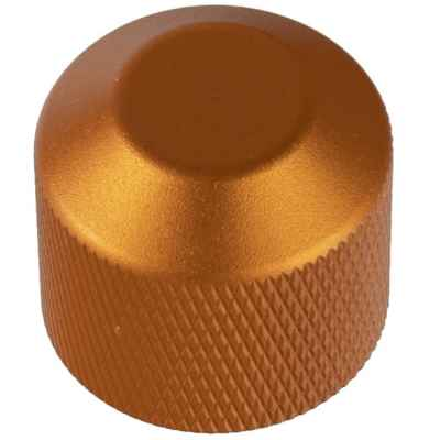 Alu valve cap for HP & Co2 bottles (orange) | Paintball Sports
