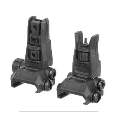 Polymer Pro Backup rear sight & grain (black) | Paintball Sports