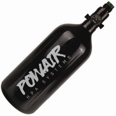 PowAir BASIC Series Paintball HP System 0.8L / 48ci (200 bar) - aluminum | Paintball Sports
