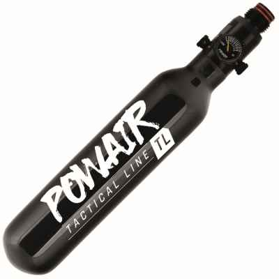 PowAir TACTICAL Line 0.25L / 16ci MagFed Paintball HP System (300 bar) | Paintball Sports