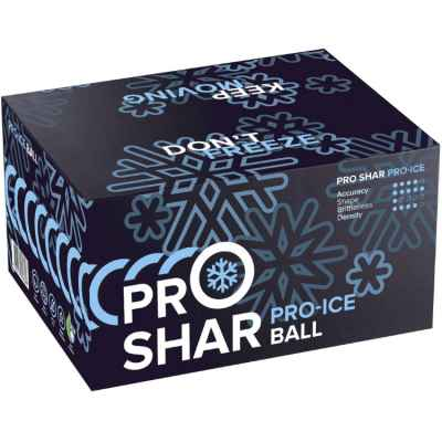 Pro Shar PRO-ICE Winter Paintballs (Box of 2000) | Paintball Sports