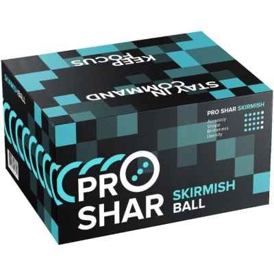 ProShar Skirmish Training Paintballs (2000 pcs) | Paintball Sports